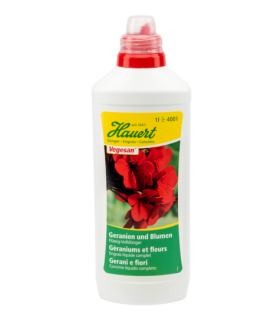 Engrais géraniums et fleurs
