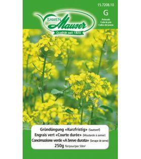"""Engrais vert """"Courte durée"""" (Moutarde à semer) 250 g (50 m2)"""