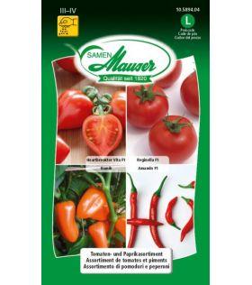 Assortiment de Tomates et Piments