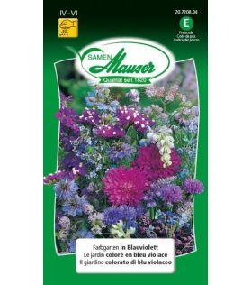 Jardin de Couleur Bleu-Violet