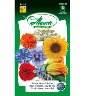 Fleurs Comestibles Pour Balcons
