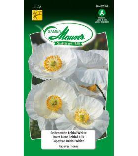 Pavot Blanc Bridal Silk