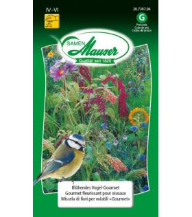 Gourmet Fleurissant pour Oiseaux