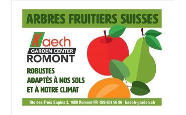 Les fruitiers sont là !